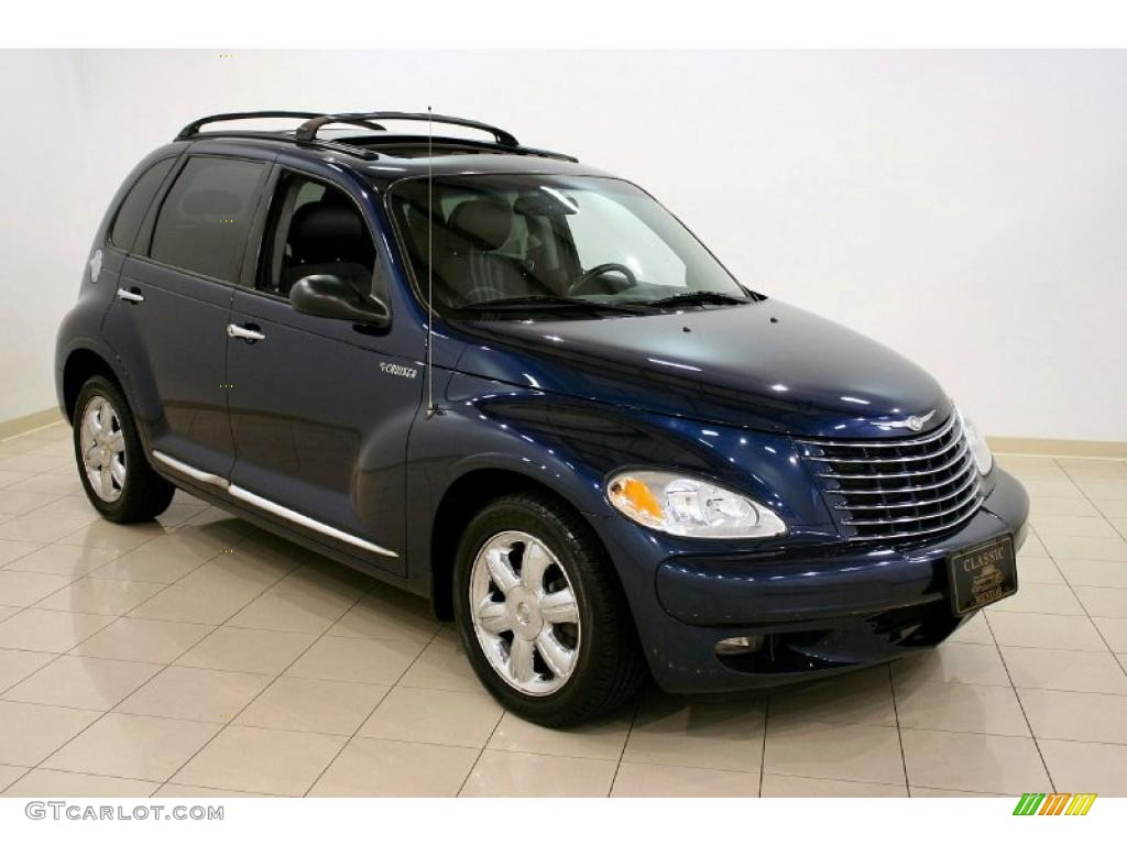2003 patriot blue pearl chrysler pt cruiser limited. Black Bedroom Furniture Sets. Home Design Ideas