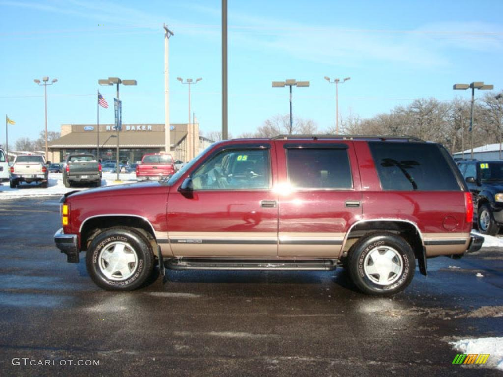 1998 red maple metallic gmc yukon slt 4x4 3326474 gtcarlot com car color galleries gtcarlot com