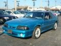 Reef Blue Metallic 1993 Ford Mustang Gallery