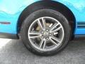 2011 Grabber Blue Ford Mustang V6 Premium Coupe  photo #13