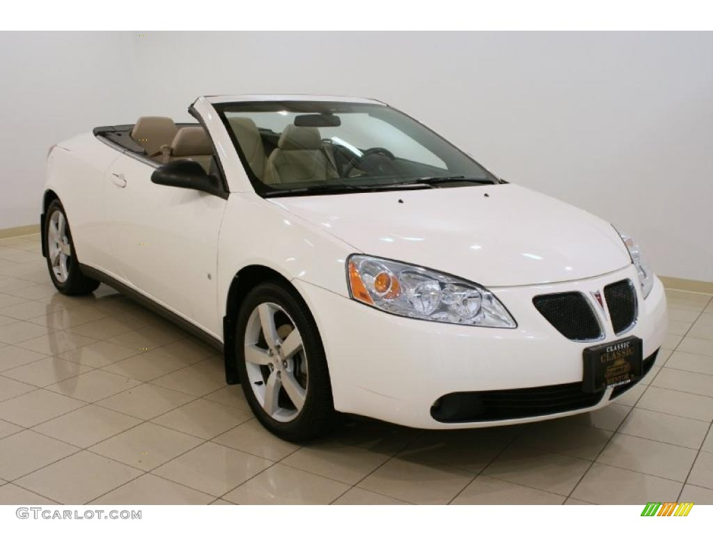 2007 Ivory White Pontiac G6 Gt Convertible 33329361
