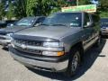 2000 Light Pewter Metallic Chevrolet Silverado 1500 Regular Cab 4x4  photo #5