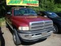 Claret Red Pearl 1996 Dodge Ram 1500 ST Extended Cab 4x4