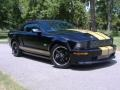 2007 Black/Gold Stripe Ford Mustang Shelby GT-H Convertible  photo #1