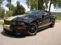 2007 Black/Gold Stripe Ford Mustang Shelby GT-H Convertible  photo #7