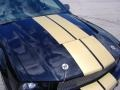 2007 Black/Gold Stripe Ford Mustang Shelby GT-H Convertible  photo #13