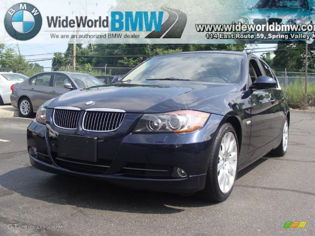 2006 monaco blue metallic bmw 3 series 330xi sedan. Black Bedroom Furniture Sets. Home Design Ideas
