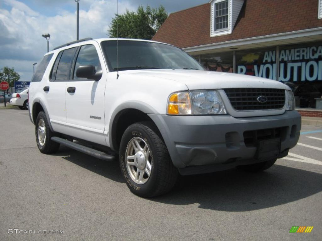 Oxford White Ford Explorer XLS X GTCarLotcom - 2002 explorer