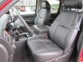 2009 Victory Red Chevrolet Silverado 1500 LTZ Crew Cab 4x4  photo #4