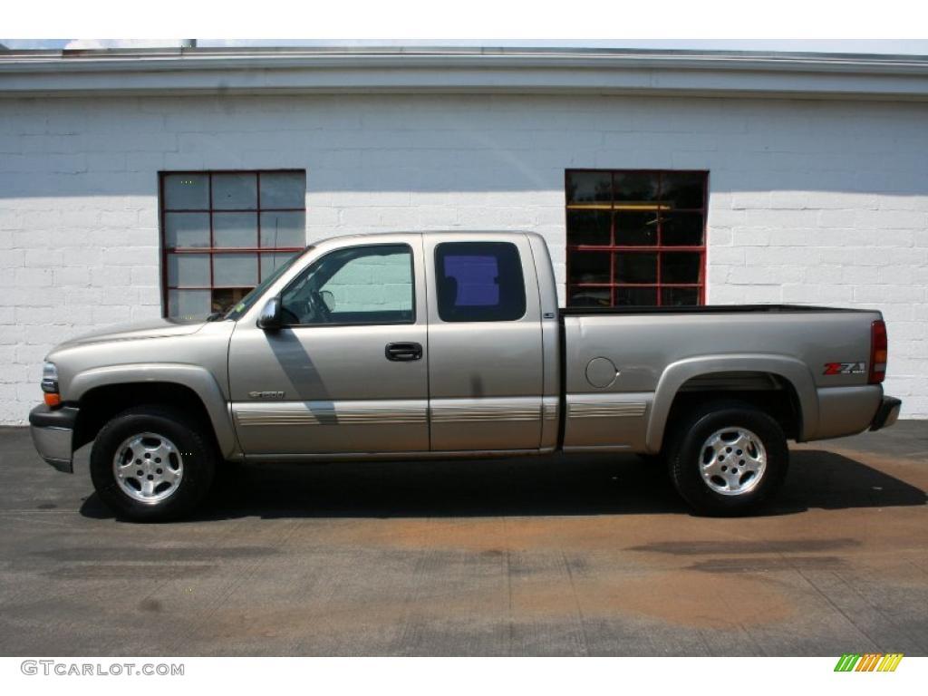 2002 Light Pewter Metallic Chevrolet Silverado 1500 Ls Extended Cab 4x4 33329597 Photo 17
