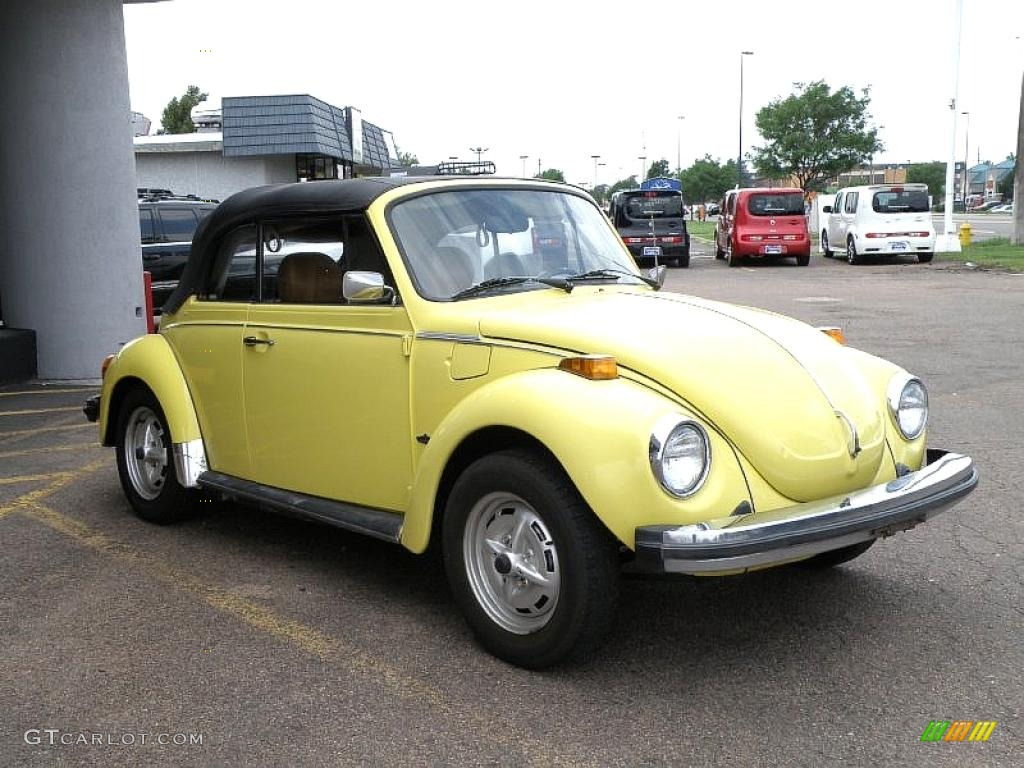 1978 Yellow Volkswagen Beetle Coupe #33328431 Photo #3 | GTCarLot.com - Car Color Galleries