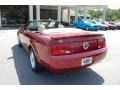 2007 Redfire Metallic Ford Mustang V6 Deluxe Convertible  photo #18