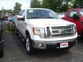 White Platinum Metallic Tri Coat - F150 Lariat SuperCrew 4x4 Photo No. 2