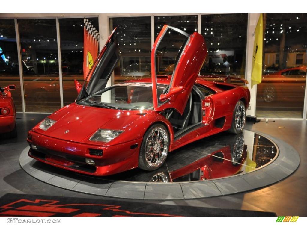 1999 Diablo Rosso Lamborghini Diablo SV Roadster 33439252 Photo