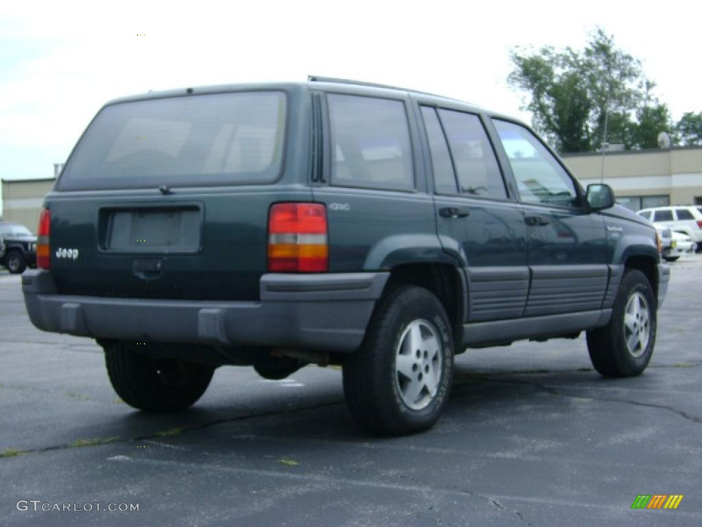1993 hunter green metallic jeep grand cherokee laredo 4x4 33438837 photo 7 1993 jeep grand cherokee interior