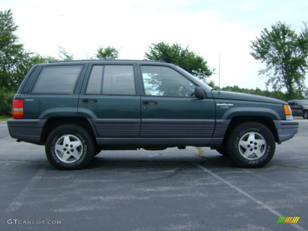 1993 jeep grand cherokee laredo 4x4 hunter green metallic color. Cars Review. Best American Auto & Cars Review