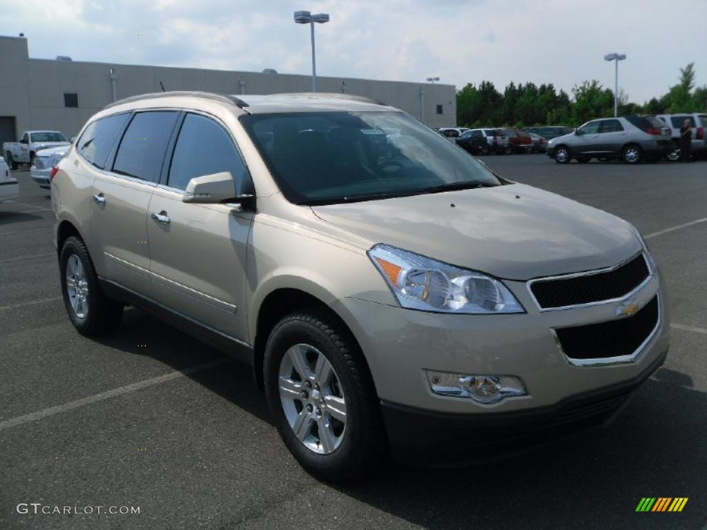 2010 gold mist metallic chevrolet traverse lt 33439412 photo 5 car color for Chevy traverse interior colors