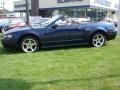 2003 True Blue Metallic Ford Mustang GT Convertible  photo #9