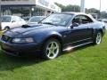 2003 True Blue Metallic Ford Mustang GT Convertible  photo #10