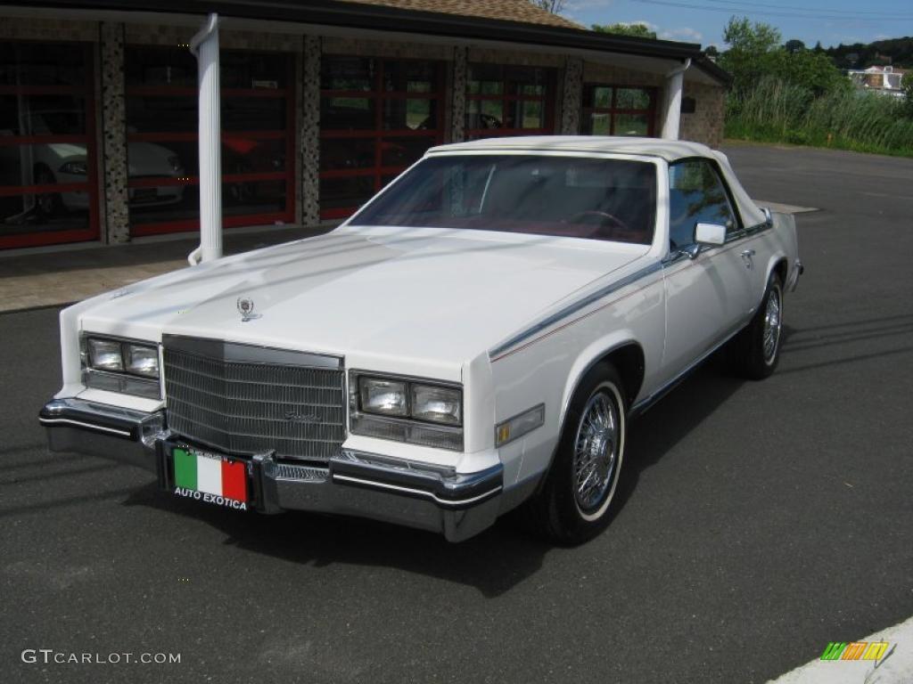 1985 white cadillac eldorado biarritz convertible. Black Bedroom Furniture Sets. Home Design Ideas
