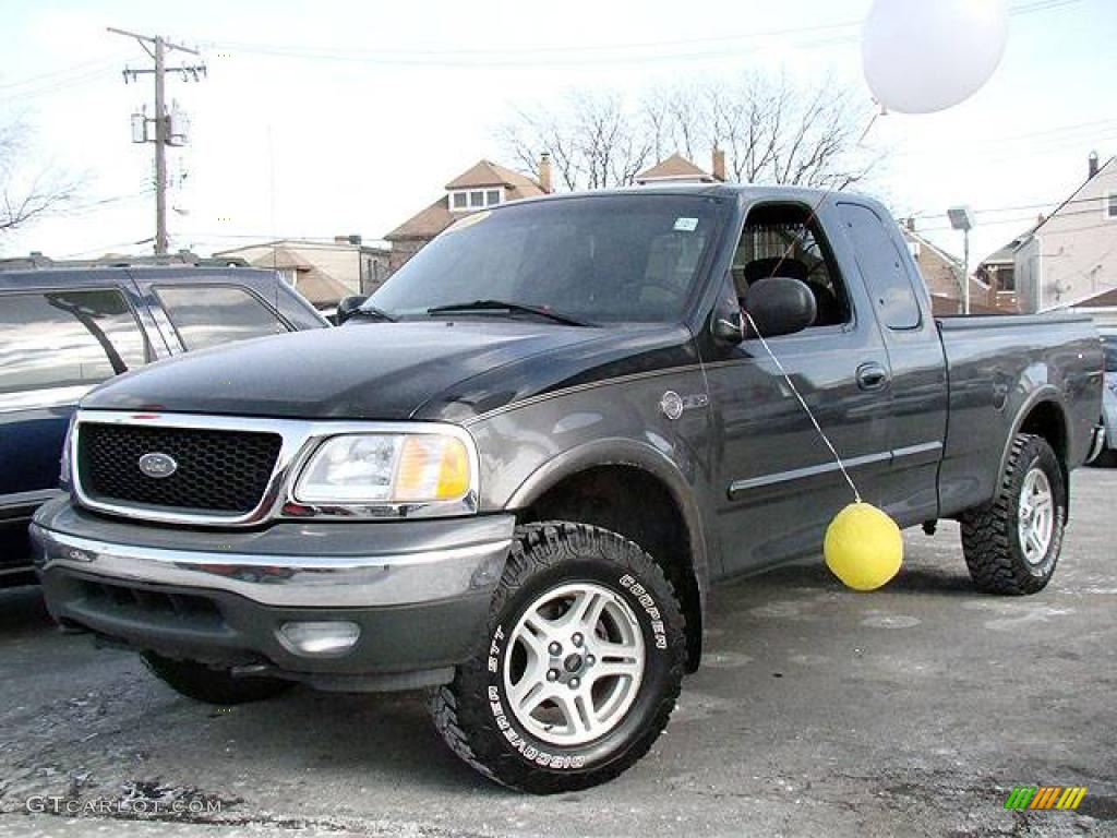 2003 Dark Shadow Grey Metallic Ford F150 Heritage Edition Supercab