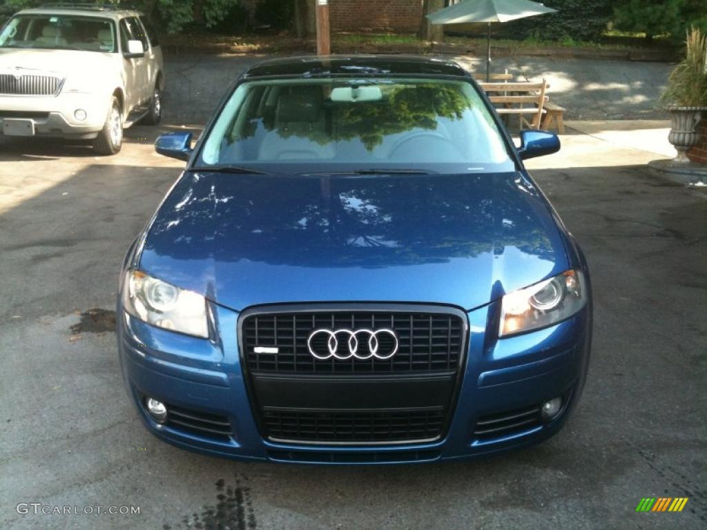 2006 Ocean Blue Pearl Audi A3 2.0T #33495999 Photo #2 | GTCarLot ...