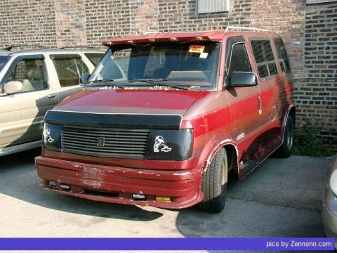 1989 Chevrolet Astro Van Data, Info and Specs
