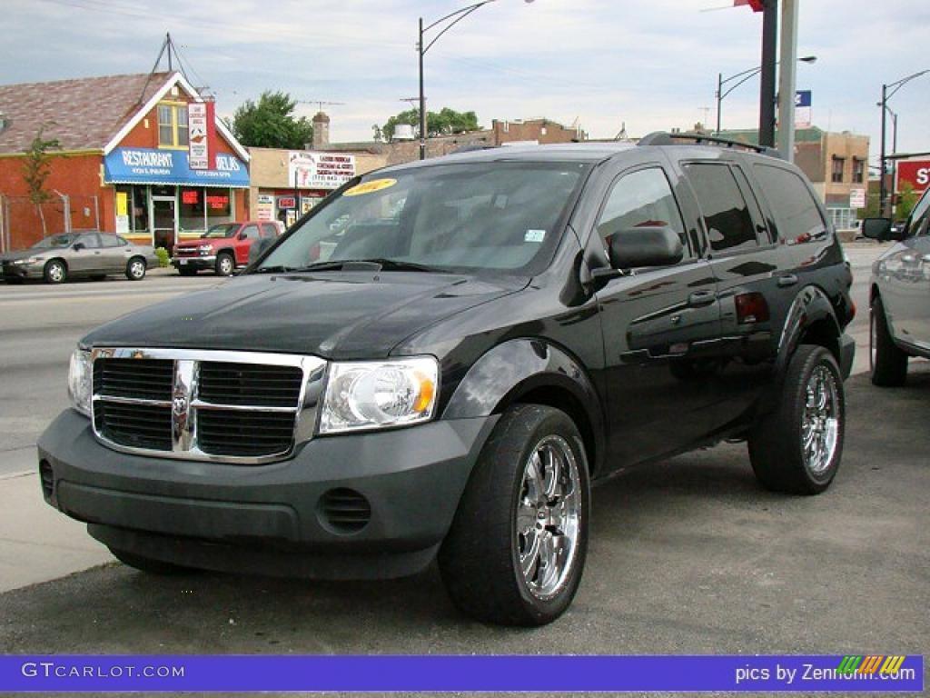 2007 Brilliant Black Dodge Durango Sxt 33496491