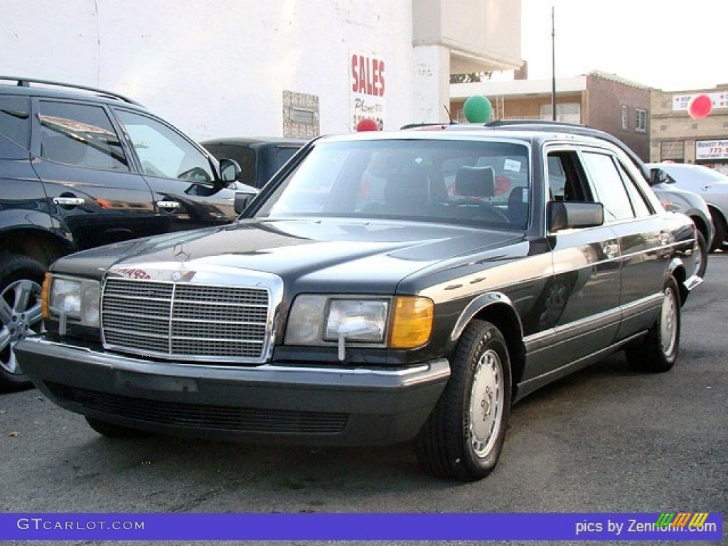 1989 black mercedes benz s class 420 sel 33496536 for Mercedes benz s class colours