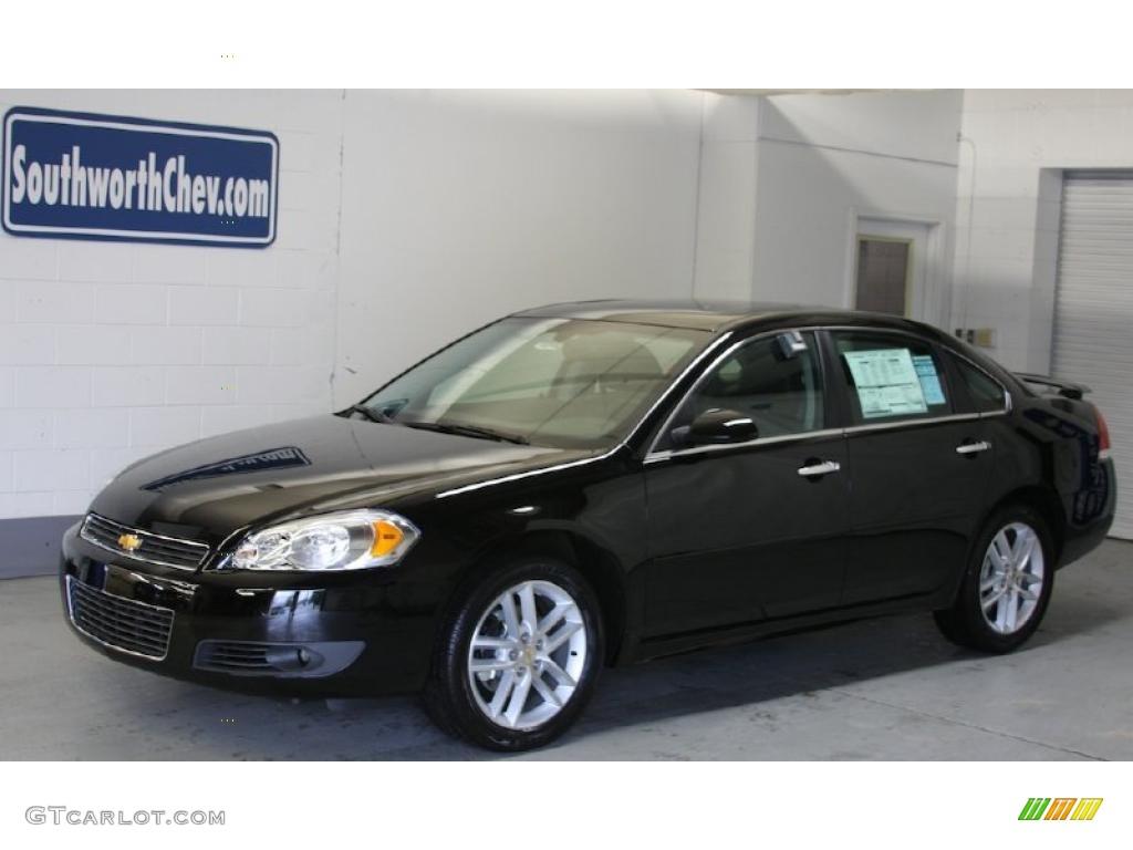 2011 Black Chevrolet Impala Ltz 33549075 Gtcarlot Com