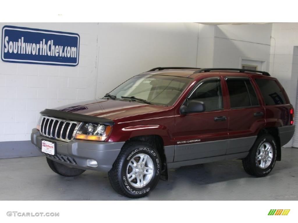 2002 dark garnet red pearlcoat jeep grand cherokee laredo. Black Bedroom Furniture Sets. Home Design Ideas