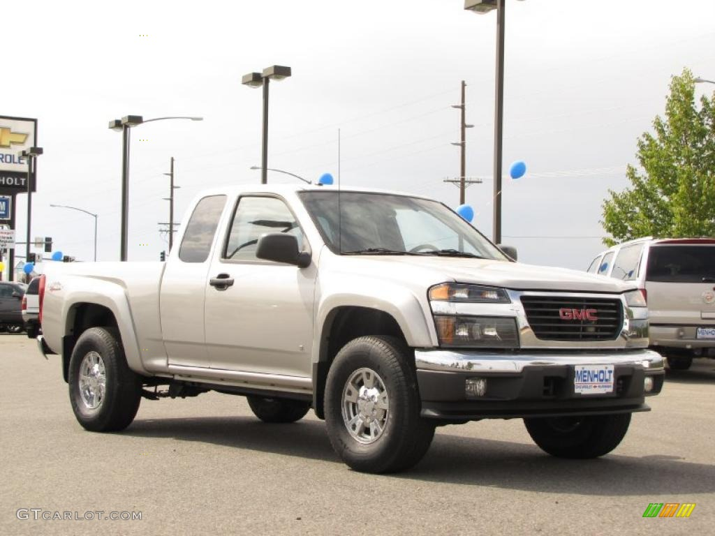 2007 silver birch metallic gmc canyon sle extended cab 4x4 33549084 2007 canyon sle extended cab 4x4 silver birch metallic dark pewter photo 2 publicscrutiny Image collections