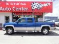 Arrival Blue Metallic - Silverado 1500 Z71 Extended Cab 4x4 Photo No. 1