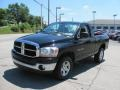2006 Black Dodge Ram 1500 SLT Regular Cab 4x4  photo #6