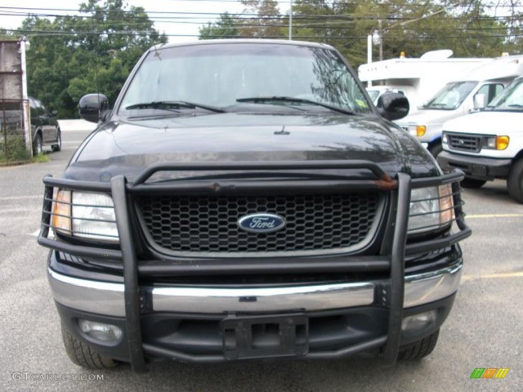 2001 Black Ford F150 XLT SuperCrew 4x4 33548716 Car Color G