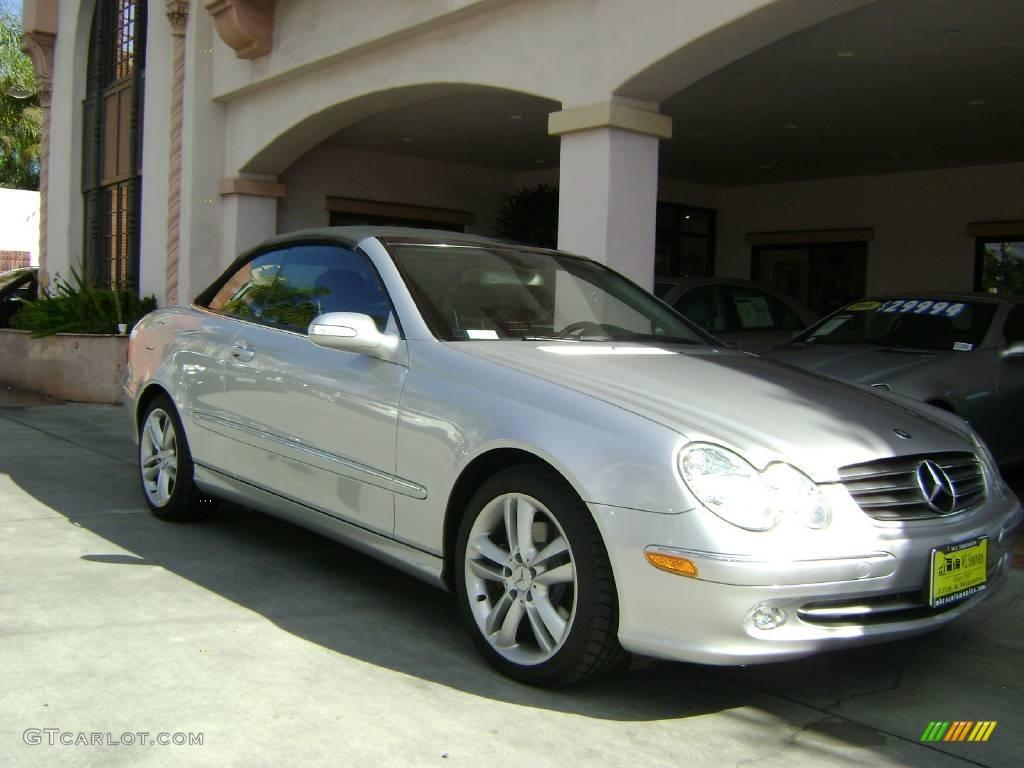 2005 Brilliant Silver Metallic Mercedes Benz Clk 320