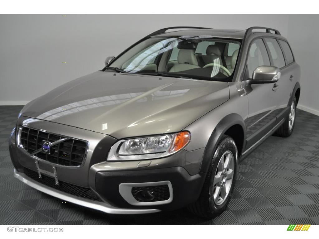 2008 oyster grey metallic volvo xc70 awd 33549399 car color galleries. Black Bedroom Furniture Sets. Home Design Ideas