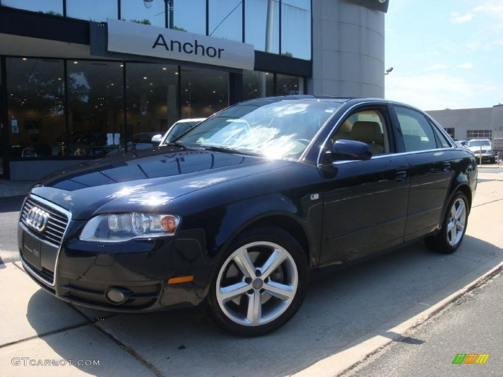 2007 deep sea blue pearl effect audi a4 3 2 quattro sedan 33606131 car color. Black Bedroom Furniture Sets. Home Design Ideas