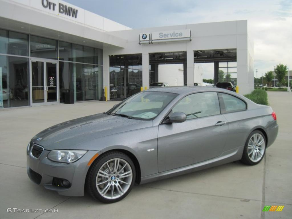 2011 Space Gray Metallic Bmw 3 Series 335i Coupe 33606427