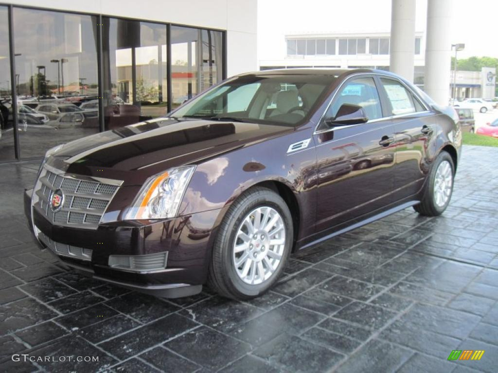 2010 black cherry cadillac cts 3 0 sedan 33606451. Black Bedroom Furniture Sets. Home Design Ideas