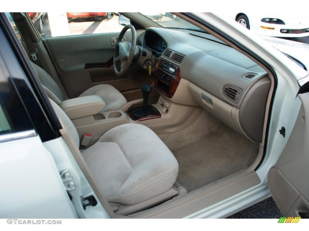 2000 galant es northstar white tan photo 20 - Mitsubishi Galant 2003 White