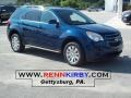 2010 Navy Blue Metallic Chevrolet Equinox LT  photo #1