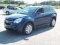 2010 Navy Blue Metallic Chevrolet Equinox LT  photo #11
