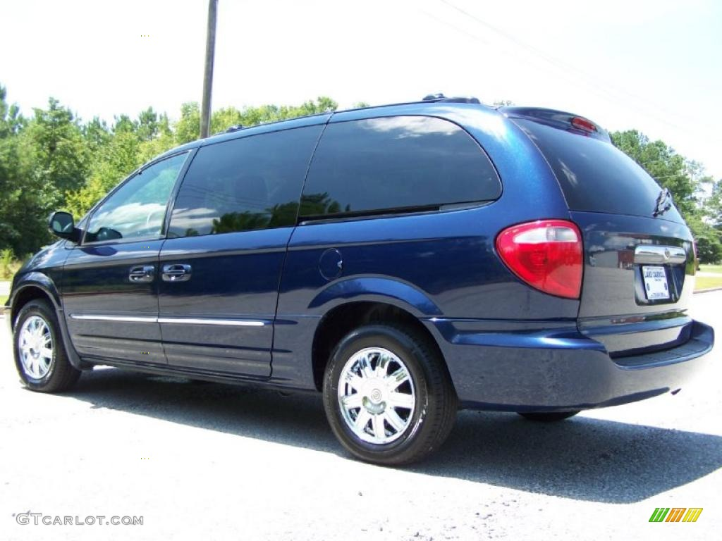 2004 midnight blue pearlcoat chrysler town country limited 33606773 photo 4. Black Bedroom Furniture Sets. Home Design Ideas