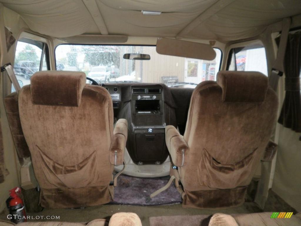 1985 Light Saddle Metallic Chevrolet Chevy Van G20 ...