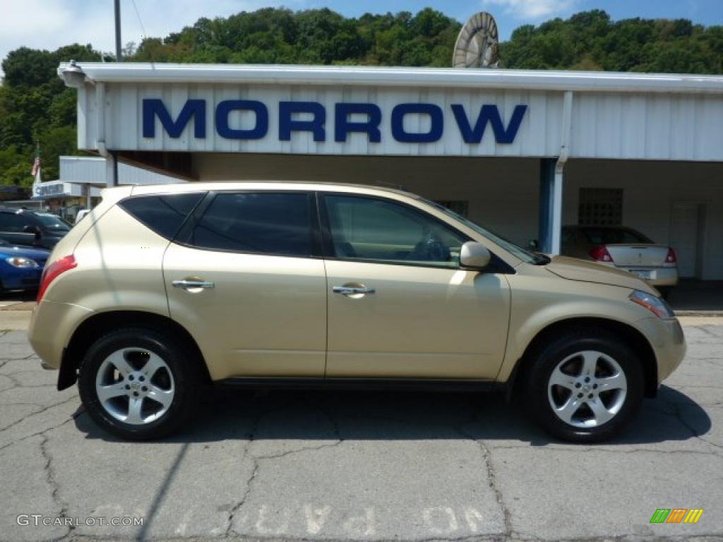 2003 Luminous Gold Metallic Nissan Murano SL AWD #33606004 ...