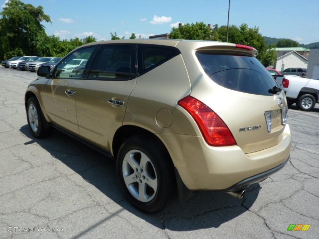 2003 Luminous Gold Metallic Nissan Murano Sl Awd 33606004