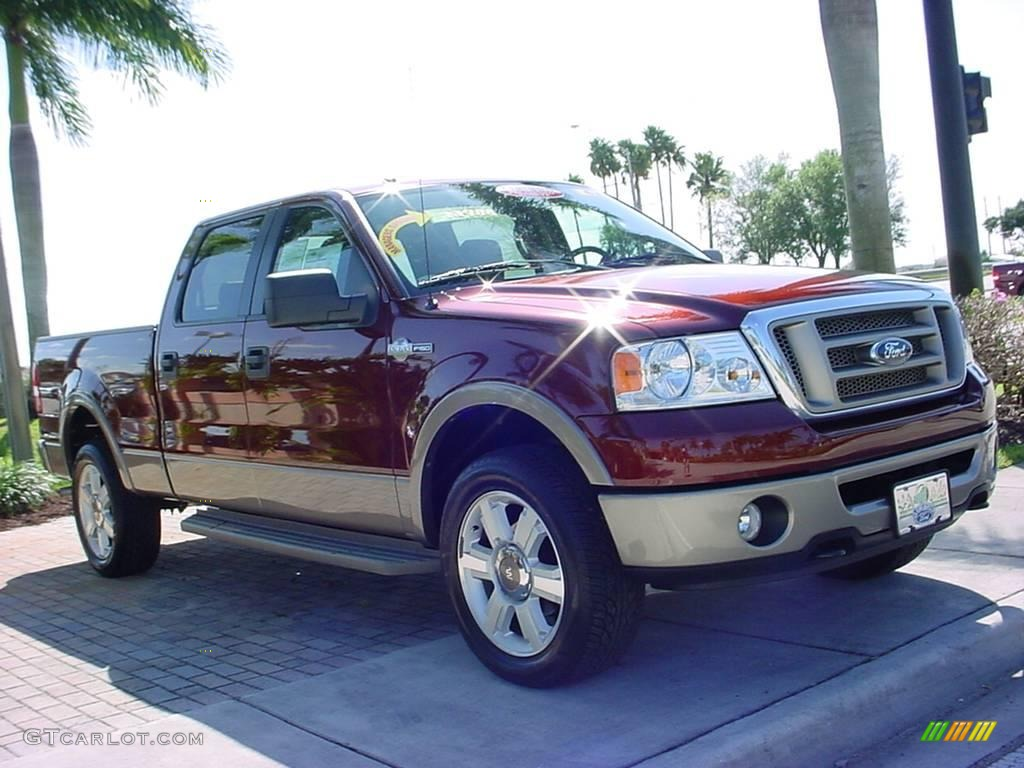 2006 dark copper metallic ford f150 king ranch supercrew 4x4 3342306 car color. Black Bedroom Furniture Sets. Home Design Ideas