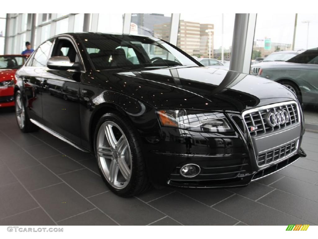 2011 brilliant black audi s4 3 0 quattro sedan 33673472. Black Bedroom Furniture Sets. Home Design Ideas