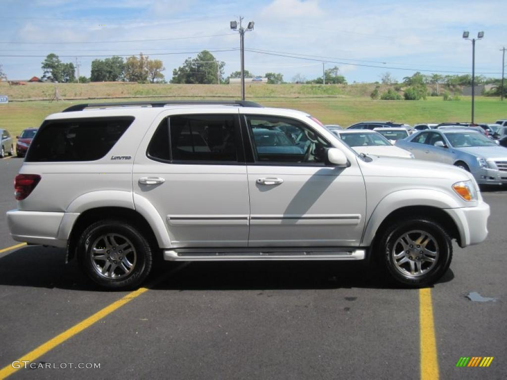 2006 arctic frost pearl toyota sequoia limited 33673587 photo 3 car color. Black Bedroom Furniture Sets. Home Design Ideas